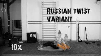 Workout addominali con cilindro rigido cavo