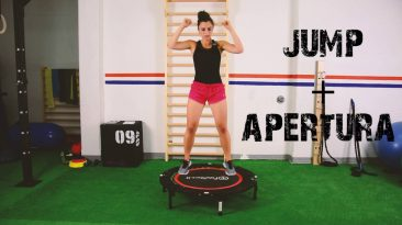 Workout cardio trampolino