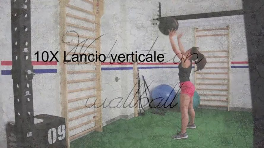 Workout con Wallball
